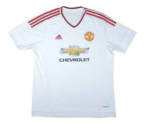 Manchester United 2015-16 Authentic Away Shirt (eccellente) XL soccer jersey