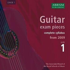 ABRSM-Guitar-Exam-Pieces-From-2009-Grade-One-CD-Guitar-CD-Backing-Tracks