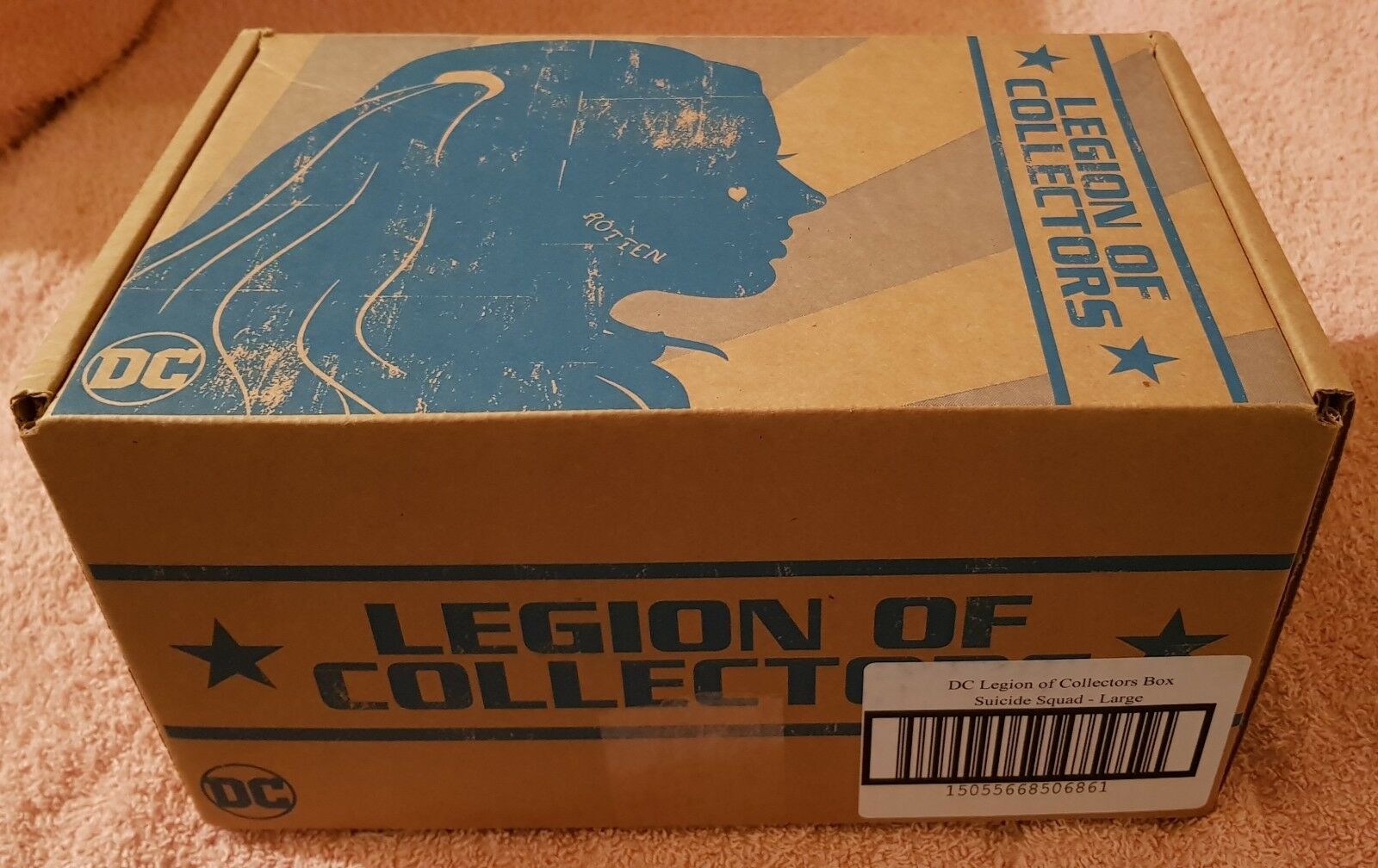 LEGION OF COLLECTORS BOX - SUICIDE SQUAD  NEVER BEEN OPENED   RARE