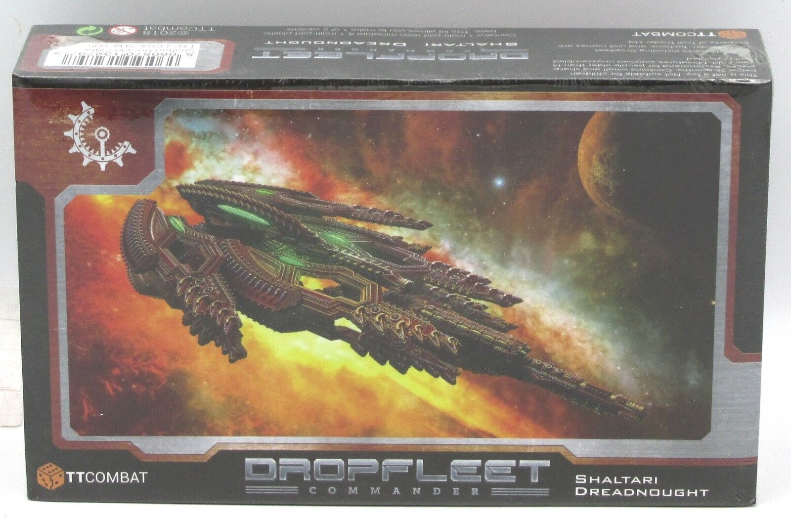 Dropfleet Commander TTC-FCGX-SHA-005 Shaltari Dreadnought (Plutonium or Uranium)