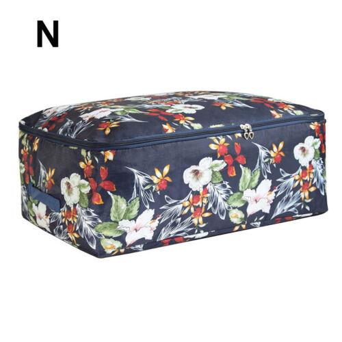 Portable Clothing Storage Bag Organizer Folding Closet Organizer For PillowQuilt