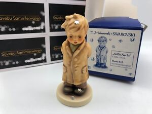 Hummel-Figurine-845-First-Bass-With-Swarovski-3-7-8in-1-Choice-Top-Condition