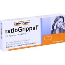 RATIOGRIPPAL 200 mg/30 mg Filmtabletten   10 st   PZN10394075