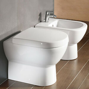 villeroy boch sanitari subway wc 6607 bidet 74100. Black Bedroom Furniture Sets. Home Design Ideas