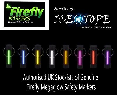 Genuine Firefly Megaglow Safety Marker Keyring Iceatope Gtls Power Nite Glowring