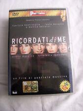 Ricordati di Me film DVD Bnetivoglio Morante Bellucci Muccino Romanoff