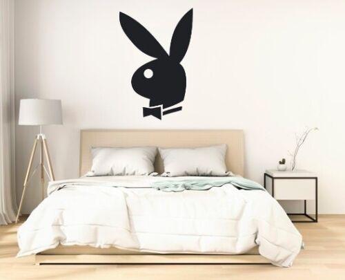 PLAYBOY BUNNY WALL ART STICKER DECALBEDROOM//LIVING ROOM