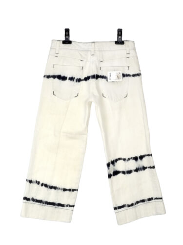 Jeans Avec Dolce Rayures Gabbana 3 4 Neuf Longueur 6Bawx1