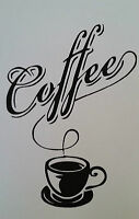 Sticker Tasse À Café, Thé, Coffee Pour La Cuisine