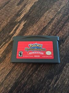 Pokemon-Mystery-Dungeon-Red-Rescue-Team-Nintendo-Gameboy-Advance-GBA-Cart-L-K