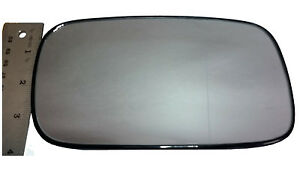 Heated Door Mirror Glass and Backing Plate LEFT fits 1999-2002 SAAB 9-5