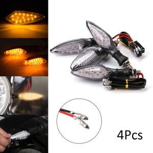 4x-16-LED-Motorcycle-Motorbike-Turn-Signal-Indicator-Light-Lamp-Indicator-Amber