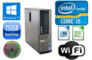 Dell-OPTIPLEX-7010-SFF-i3-i5-DUAL-QUAD-CORE-4-8GB-RAM-250GB-HD-USB-3-0-WIN-10