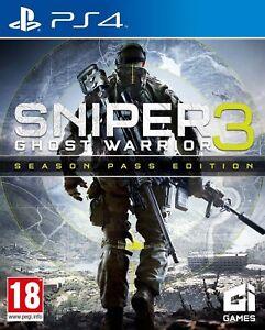 SNIPER-Ghost-Guerriero-3-PS4-Nuovo-di-zecca-consegna-rapida