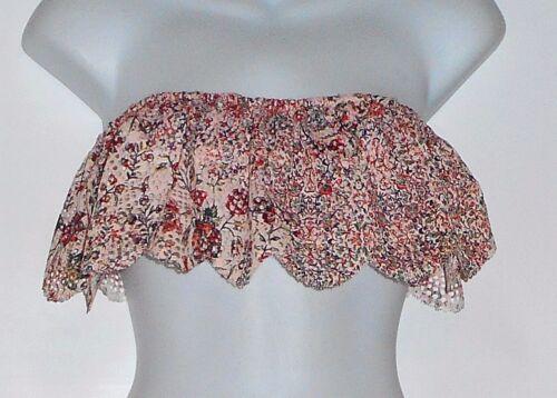 X Large Flounce Crochet 2 Nwt l Bralette Victoria's Bandeau Lace Secret UZ1CqxwR