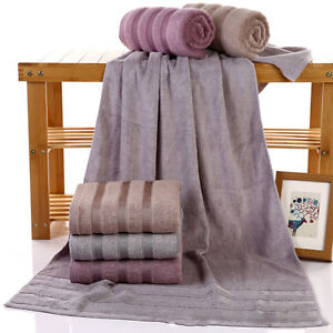 Bamboo-Fiber-Large-Bath-Towel-Shower-Bathroom-Home-Hotel-Travel-Towel-4-Styles