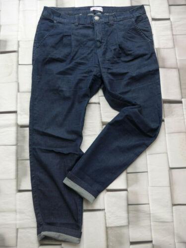 419 Sheego Jeans Pantalon Femmes stoffhose Taille 44 à 58 Bleu Argile Grande Tailles NEUF