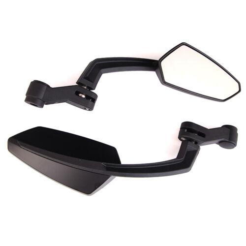 Black Motorcycle Rearview Wing Mirrors For Honda CB500 CB1000 CB1000R VTX1300C