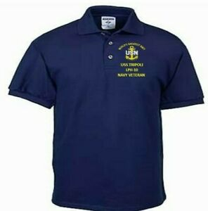 USS-TRIPOLI-LPH-10-NAVY-ANCHOR-EMBROIDERED-LIGHT-WEIGHT-POLO-SHIRT