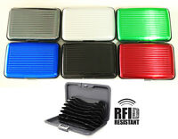 2x Waterproof Aluminum Business Id Credit Card Wallet Holder Pocket Case Box