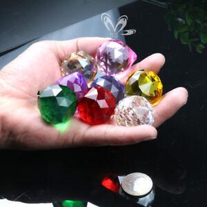 8X-Rainbow-Cut-Glass-Crystal-Chandelier-Prism-Lamp-Part-Suncatcher-Wedding-Decor