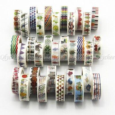Kawaii Tape Cartoon Washi Tape Japanese Decorative Tape Scrapbooking Stickers
