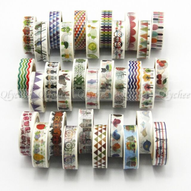Kawaii Tape Cartoon Washi Tape Japanese Decorative Tape Scrapbooking Stickers