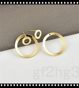 Simple-Round-Ear-Women-Circle-Ear-Studs-Earring-Minimalist-Gold-Earrings-Jewelry