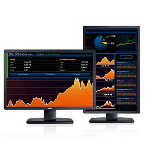 "Dell UltraSharp 24/"" LED LCD Monitor 16:10 Black U2412M"