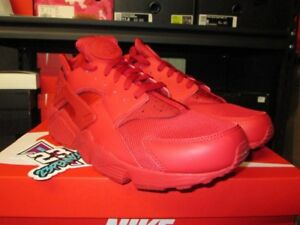 40fc8eeeb45ea NEW MEN S NIKE AIR HUARACHE RUN VARSITY RED 318429 660 SZ 9.5-12 ...