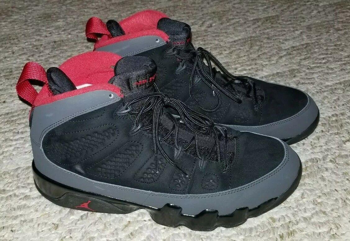 Jordan 9 Charcoal Bred Size 9.5