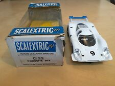 Scalextric C22 Porsche 917 boxed - very clean - made in France