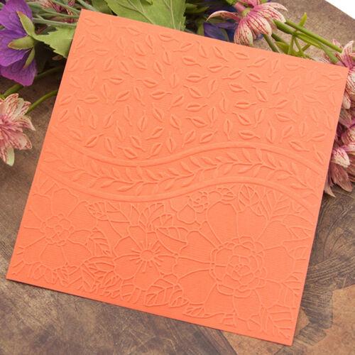 leaves Embossing folders Plastic Embossing Folder For Scrapbooking DIY card