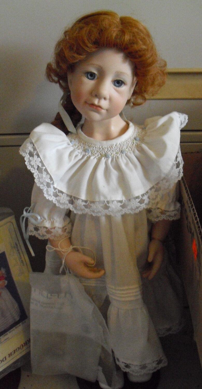 RARE Good Kruger Vinyl Everything Nice Red Hair Girl Doll 22  Tall