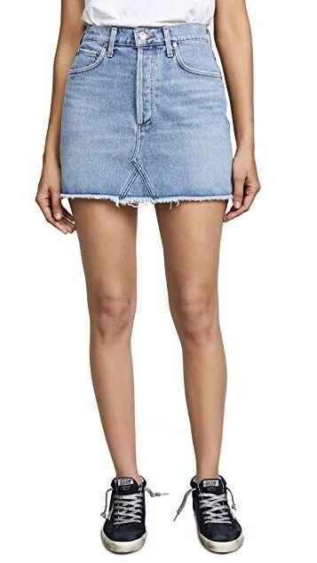 AgoldE Quinn High Rise Mini Denim Skirt Size 29 NWT