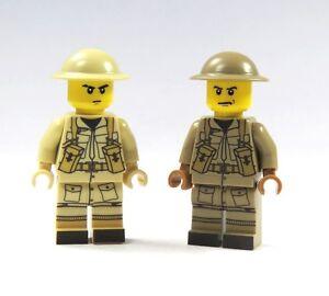 Custom Russsischer Soldat Helm Figur hochwertig bedruckt aus LEGO® Teilen Bau- & Konstruktionsspielzeug-Sets