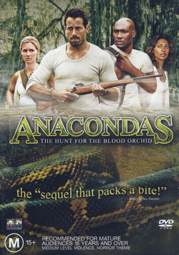 1 of 1 - Anacondas - The Hunt For The Blood Orchid - Action / Horror - NEW DVD