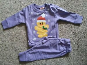 Christmas Gingerbread Pyjama. Age 12-18 Months. Brand New With Tags