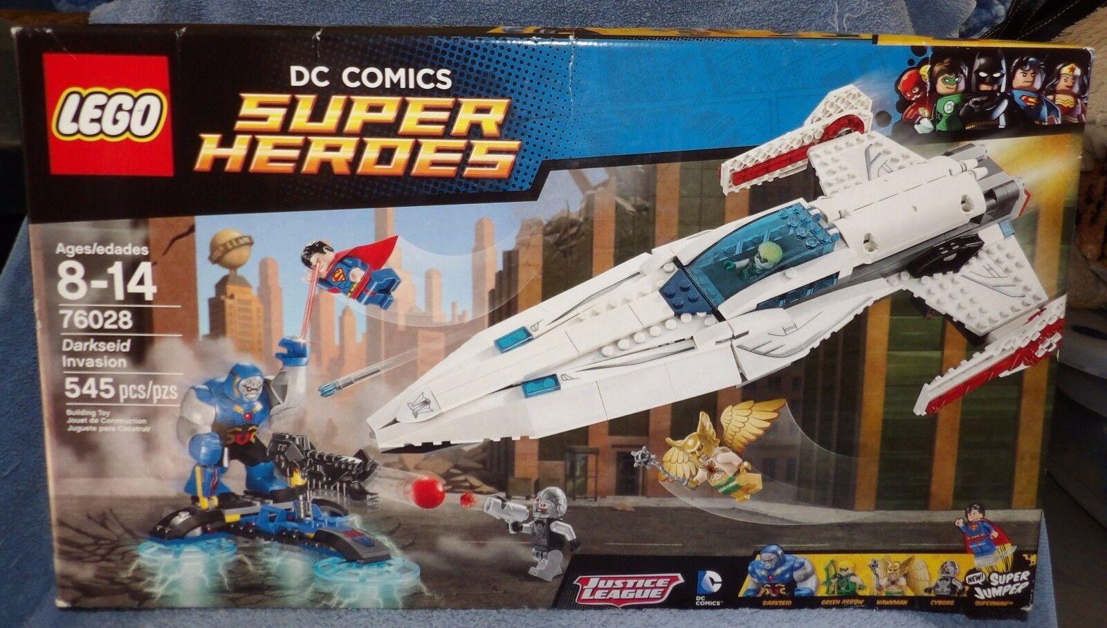 LEGO DC Comics Super Super Super Heroes DARKSEID invasión  bienvenido a comprar