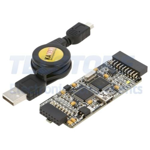 1pcs  Programmatore microcontrollori XDS100v2 1,8÷3,3VDC TELSTORE
