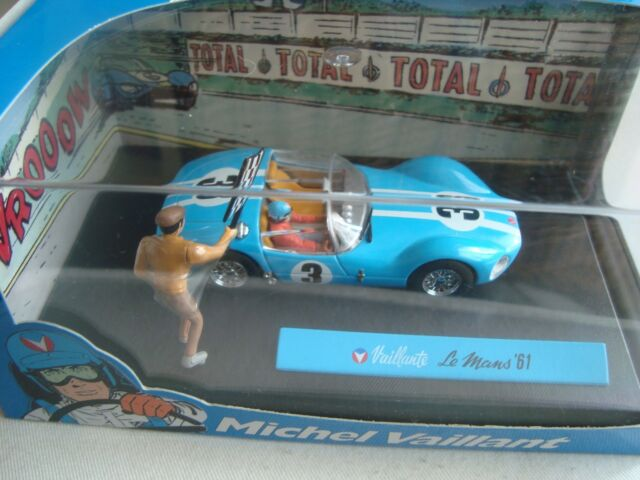Miniature New 1/43 Michel Brave Vaillant le Mans 61 The 13 to the / Of Departure