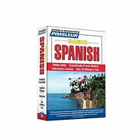 Pimsleur Spanish Basic Course - Level 1 Lessons 1-10 Cd: Learn ... Free Shipping