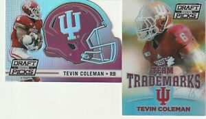 2-2015-Panini-Collegiate-Draft-Picks-Tevin-Coleman-Rookie-RC-Silver-Prizm-Lot