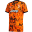 thumbnail 1 - adidas Juventus FC 2020- 2021 Third Soccer Jersey Bahia Orange - Black Brand New