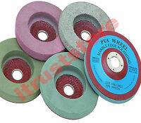 5pc Abrasive Polisher Wheel Buffer Disc Set 4 For Masonry Marble Rock Polishing