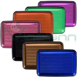 Custodia-rigida-alluminio-porta-schede-protezione-Carta-Credito-Bancomat-Tessere