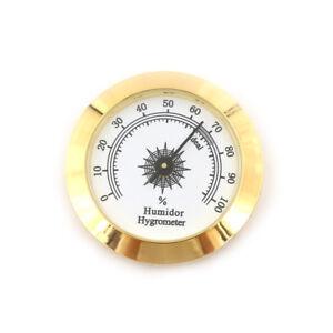 Thermometer Humidity Measuring Tool Cigar Hygrometer Monitor Meter Gauge