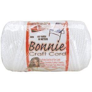 Pepperell Bonnie Macrame Craft Cord 6mm 100 Yards - 257513