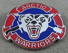 US Army 207th Arctic Recon Airborne Infantry Regiment Unit Crest Insignia