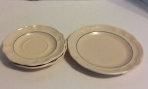 Pfaltzgraff Remembrance Salad Plate And 2 Saucer Plates Retired ...